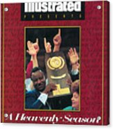 University Of Arkansas Coach Nolan Richardson, 1994 Ncaa Sports Illustrated Cover Acrylic Print