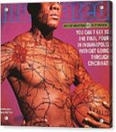 University Of Cincinnati Danny Fortson, 1996-97 College Sports Illustrated Cover Acrylic Print