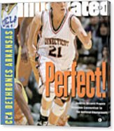 University Of Connecticut Jennifer Rizzotti, 1995 Ncaa Sports Illustrated Cover Acrylic Print