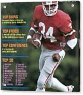 University Of Georgia Herschel Walker Sports Illustrated Cover Acrylic Print