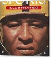 University Of Iowa Calvin Jones Sports Illustrated Cover Acrylic Print