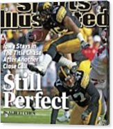 University Of Iowa Derrell Johnson-koulianos Sports Illustrated Cover Acrylic Print