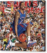 University Of Kansas Marcus Morris, 2011 March Madness Sports Illustrated Cover Acrylic Print