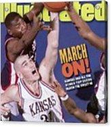 University Of Kansas Scot Pollard, 1997 Ncaa Southeast Sports Illustrated Cover Acrylic Print