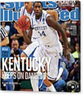 University Of Kentucky Michael Kidd-gilchrist, 2012 Ncaa Sports Illustrated Cover Acrylic Print
