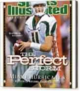 University Of Miami Qb Ken Dorsey, 2001 Ncaa National Sports Illustrated Cover Acrylic Print