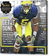 University Of Michigan Jabrill Peppers, 2016 College Sports Illustrated Cover Acrylic Print