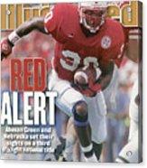 University Of Nebraska Ahman Green Sports Illustrated Cover Acrylic Print
