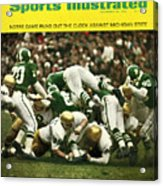 University Of Notre Dame Football Sports Illustrated Cover Acrylic Print