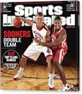 University Of Oklahoma Blake Griffin And Courtney Paris Sports Illustrated Cover Acrylic Print