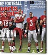 University Of Oklahoma Qb Landry Jones, 2011 College Sports Illustrated Cover Acrylic Print