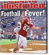 University Of Oklahoma Trent Smith Sports Illustrated Cover Acrylic Print