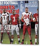 University Of South Carolina Alshon Jeffery, 2011 College Sports Illustrated Cover Acrylic Print