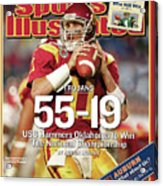 University Of Southern California 2004 Bcs National Sports Illustrated Cover Acrylic Print