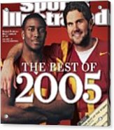 University Of Southern California Qb Matt Leinart And Sports Illustrated Cover Acrylic Print
