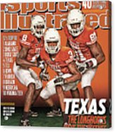 University Of Texas, 2010 College Football Preview Issue Sports Illustrated Cover Acrylic Print