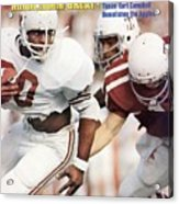 University Of Texas Earl Campbell Sports Illustrated Cover Acrylic Print