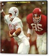 University Of Texas Qb James Street Sports Illustrated Cover Acrylic Print
