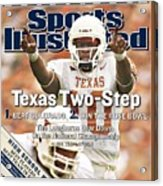 University Of Texas Qb Vince Young Sports Illustrated Cover Acrylic Print