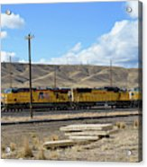 Up 5400 Passing Through Acrylic Print