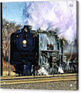 Up 844 Movin' On - Artistic Acrylic Print
