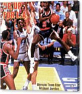 Up, Up For La 1984 Los Angeles Olympic Games Preview Issue Sports Illustrated Cover Acrylic Print