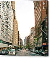 Upper East Side, New York City Acrylic Print