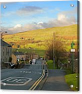 Upper Wensleydale From Hawes Yorkshire Dales National Park Acrylic Print