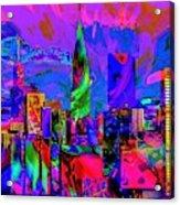 Urban Color Acrylic Print
