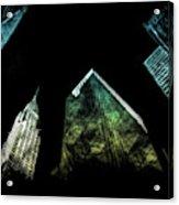Urban Grunge Collection Set - 02 Acrylic Print
