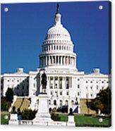 U.s. Capitol Building In Washington Acrylic Print