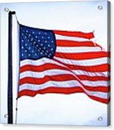 U.s. Flag 5 Acrylic Print