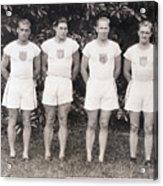 U.s. Olympic Decathlon Team Acrylic Print