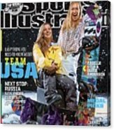 Usa Arielle Gold And Jamie Anderson, 2014 Sochi Olympic Sports Illustrated Cover Acrylic Print