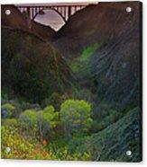 Usa, California, Big Sur, Bixby Bridge Acrylic Print