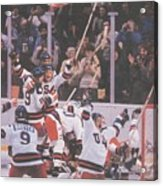Usa Hockey, 1980 Winter Olympics Sports Illustrated Cover Acrylic Print