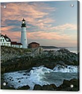 Usa, Maine, Cape Elizabeth, Portland Acrylic Print