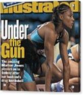 Usa Marion Jones, 2000 Summer Olympics Sports Illustrated Cover Acrylic Print