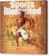 Usa Michael Johnson, 1996 Summer Olympics Sports Illustrated Cover Acrylic Print