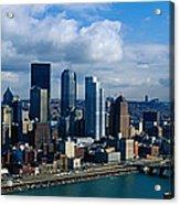 Usa, Pennsylvania, Pittsburgh, Skyline Acrylic Print