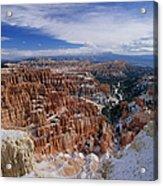Usa, Utah, Winter Bryce Canyon Acrylic Print