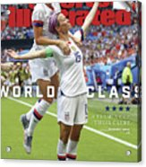 Usa Vs Netherlands, 2019 Fifa Womens World Cup Final Sports Illustrated Cover Acrylic Print