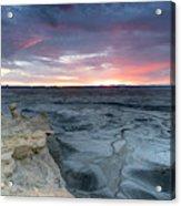 Utah Desert Sunrise Acrylic Print
