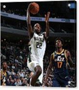 Utah Jazz V Milwaukee Bucks Acrylic Print