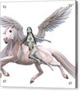Valkyrie Angel Acrylic Print