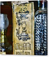 Vapo-cresolene Vaporizer Liquid Poison Original Packaging Acrylic Print