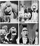Various Muppets Scenes Acrylic Print