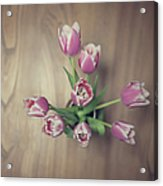 Vase Full Of Happiness Acrylic Print