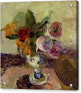 Vase Of Flowers 1886 Acrylic Print