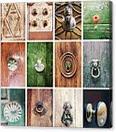 Venetian Door Knobs Acrylic Print